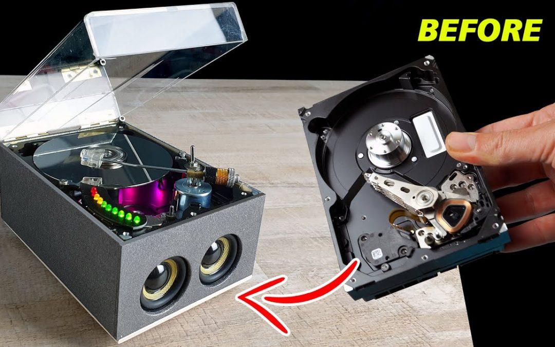 ¿Cómo hacer un reproductor bluetooth con un Disco Duro (HDD)?