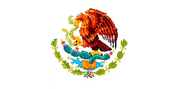 Escudo Mexicano Pixel Art